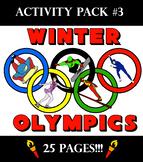 2018 Winter Olympics Activity Pack 3