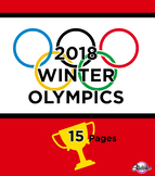 2018 Winter Olympics Activity Pack