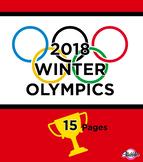 2018 Winter Olympics Activity Pack