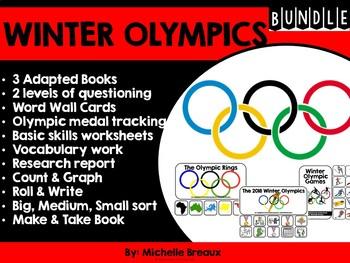 2018 Winter Olympics BUNDLE (SPED, Autism)