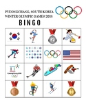 2018 Winter Olympics Bingo