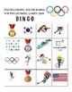 2018 Winter Olympics Bingo