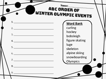2018 Winter Olympics Bundle!
