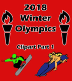 2018 Winter Olympics Clipart Package 1
