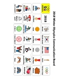 2018 Winter Olympics Communication Board/ AAC