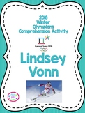 2018 Winter Olympics Comprehension Activity, Lindsay Vonn