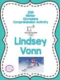 2018 Winter Olympics Comprehension Activity, Lindsay Vonn