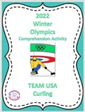 2018 Winter Olympics Comprehension Activity, U.S. Curling Team