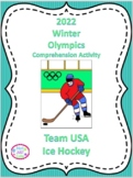 2018 Winter Olympics Comprehension Activity, U.S. Men's Ice Hockey Team