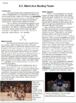 2018 Winter Olympics Comprehension Activity, U.S. Men's Ice Hockey Team