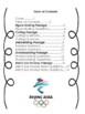 2018 Winter Olympics Comprehension Passages, U.S. Olympians & Teams Bundle!