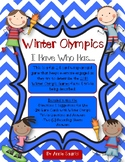 Winter Olympics 2018 I Have Who Has...Olympic Trivia and Fact Wrap-Around Game