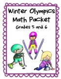 2018 Winter Olympics Math Packet