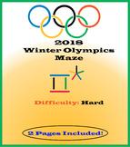 2018 Winter Olympics Maze