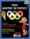 2018 Winter Olympics No Prep Activity Pack