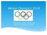 2018 Winter Olympics PowerPoint