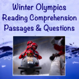 2022 Winter Olympics Reading Comprehension Passages and Questions