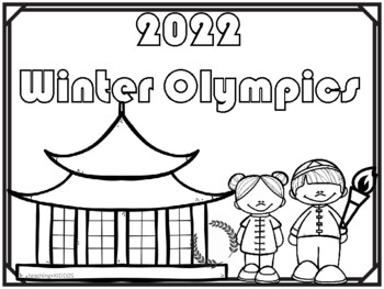 1111 Winter Olympics - coloring pages by Teaching Kiddos 11 | TpT