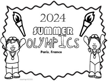 2020 Summer Olympics Coloring Pages By Teaching Kiddos 1 Tpt