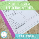 2018 Year in Review Printable