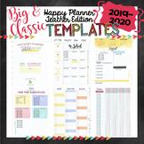 2019-20 Happy Planner Teacher Template BUNDLE {+BONUS PAGES!!}