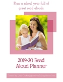 2019=20 School Year Monthly Read Aloud Planner