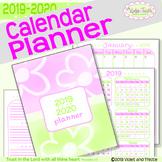 2020 Calendar for Teachers Printable Binder Covers {Teache