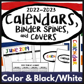 picture relating to Happy Planner Printable Calendar Pages identified as 2019-2020 Calendar Printables, Regular Calendar 2019, 2020 Content Planner Handles