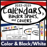 2020-2021 Calendar Printables & Teacher Planner Pages Happ