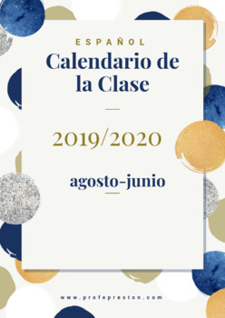 2019-2020 Class Calendars: Aug-June
