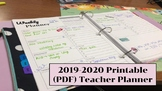 2019-2020 Digital Planner (Printable) **FREE**