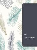 2019-2020 *EDITABLE* Lesson Plan Book
