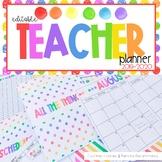2019-2020 Editable Teacher Planner {Choose The Sunshine}