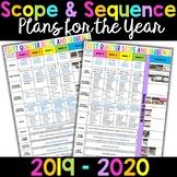 2019 - 2020 Lesson Plans