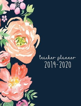 2019-2020 PRINTABLE Teacher Planner