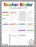 2021-2022 Teacher Planner (YEARLY UPDATES FOR LIFE!!!)