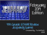 2019 - 4th Grade Jeopardy STAAR Review Game