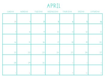 2019 Australian Calendar