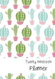 2019 Cactus Teacher Planner
