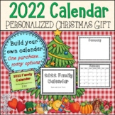 2019 Edition * Personalized Christmas Calendar Gift/Present  Art Activity