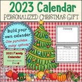 2021 Edition * Personalized Christmas Calendar Gift/Presen