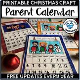 2019 Calendar Printable Student Gift