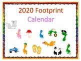 Footprint Calendar 2020