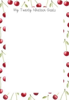 2019 Cherry Teacher Planner