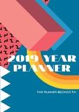 2019 Editable Teacher Planner: Memphis