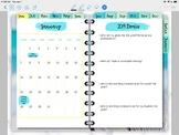 2019 Digital-Online Teacher Planner- Gogokid, VIPKid, Magic Ears