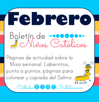 2019 Febrero Boletín para Niños Católicos