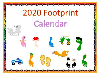 2019 Footprint Calendar