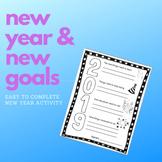 2019 Goals Sheet