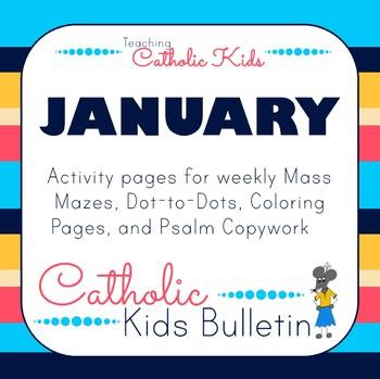 2019 January Catholic Kids Bulletins
